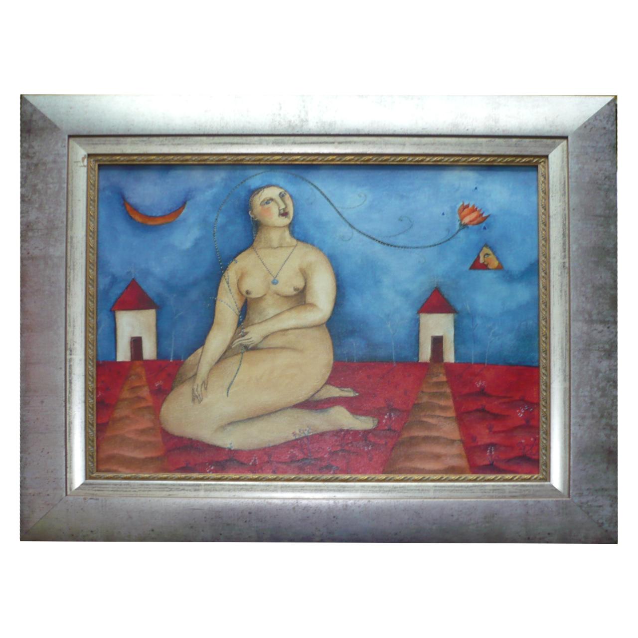 de clercq hannetjie vincent art gallery fr 67 x 58cm unfr 46 x 36cm pa1297